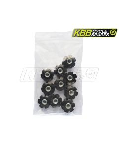 "KBB9010 - Star Nut - Pack Qty 10 (1 - 1 / 8"")"