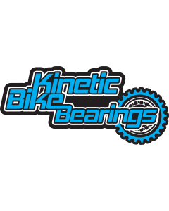 Sticker - Kinetic Bike Bearings (Cyan)