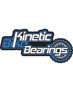 Sticker - Kinetic Bike Bearings (Blue)